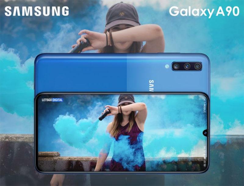 Samsung Galaxy A90 pode ser lançado em breve