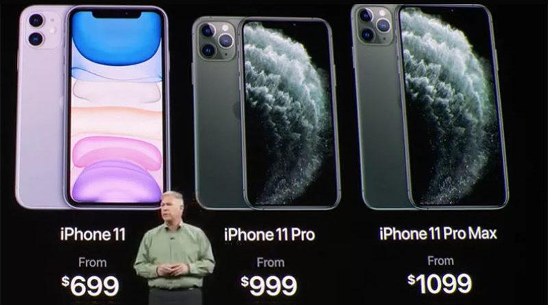 iPhone 11, iPhone 11 Max e iPhone 11 Pro Max são anunciados oficialmente