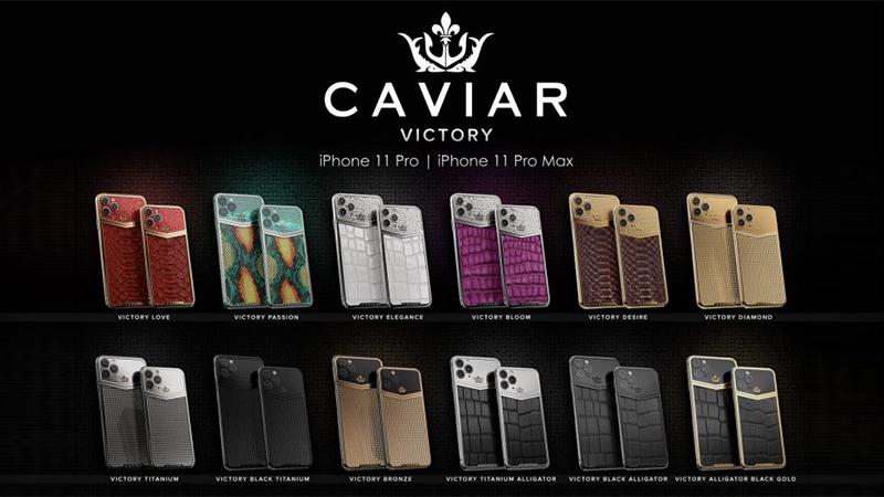 A Caviar vai trazer para o mercado 12 modelos de luxo do iPhone 11 e 11 Pro Max