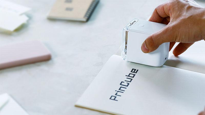 Essa é a PrinCube - Impressora colorida que você pode levar para qualquer lugar