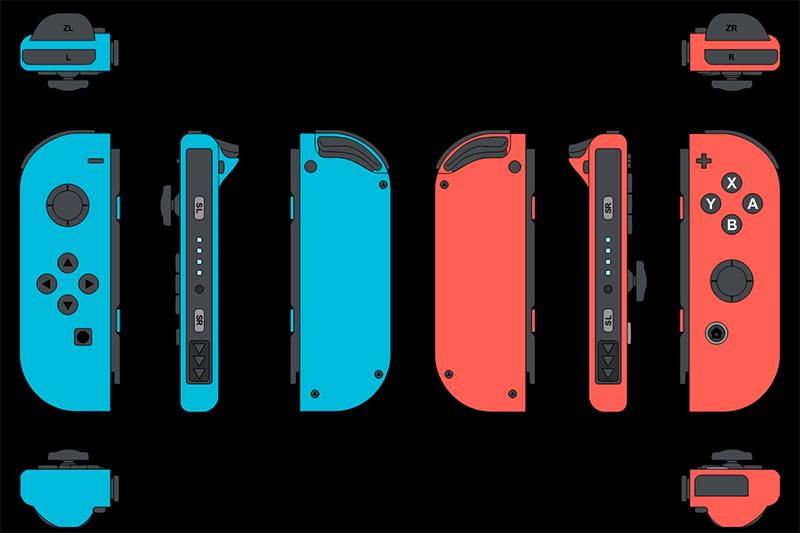 Novos modelos de controles Joy-Cons para Nintendo Switch pode estar a caminho