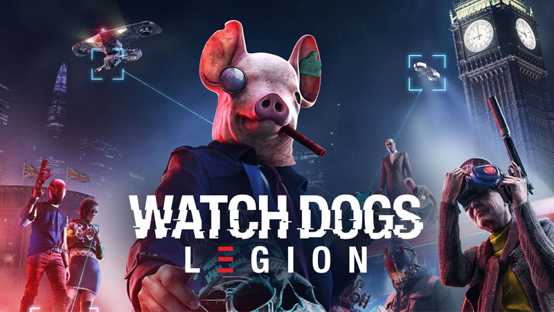 Watch Dogs Legion adiamento