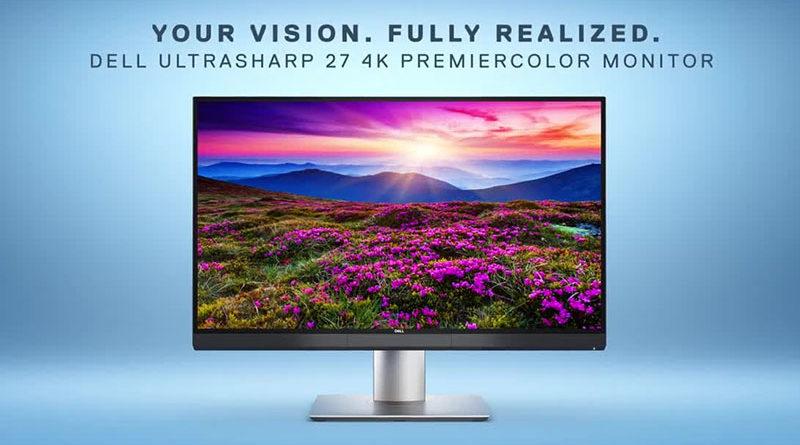 Dell lança monitor 4K de 27 polegadas