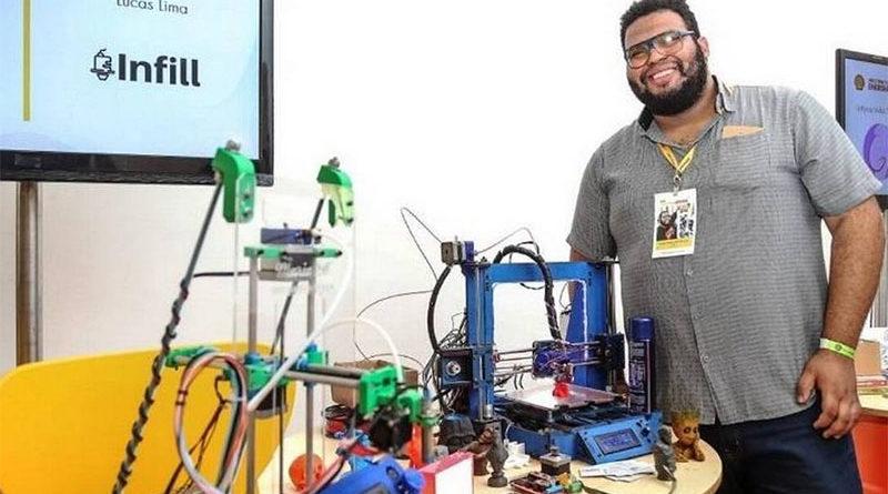 Engenheiro da periferia do Rio de janeiro cria impressora 3D com sucatas ferro velho