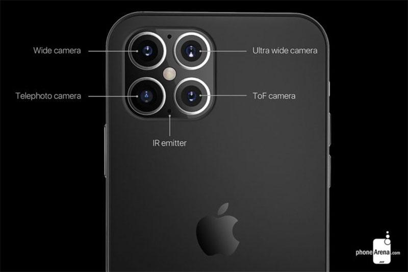 iPhone 12 pode chegar com quatro câmeras traseiras