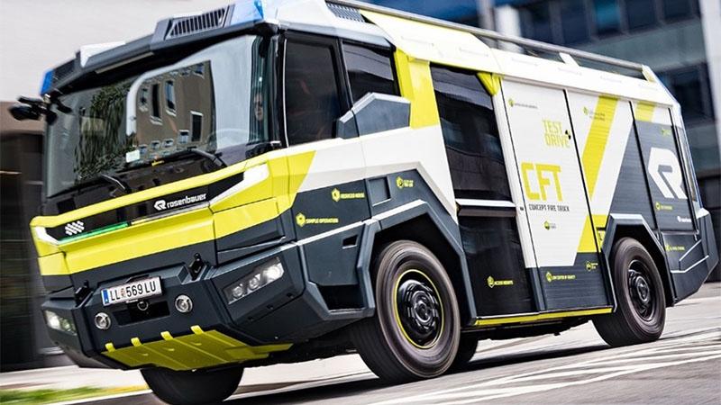Em 2021 EUA poderá ter caminhões de bombeiro elétrico com visual futurista