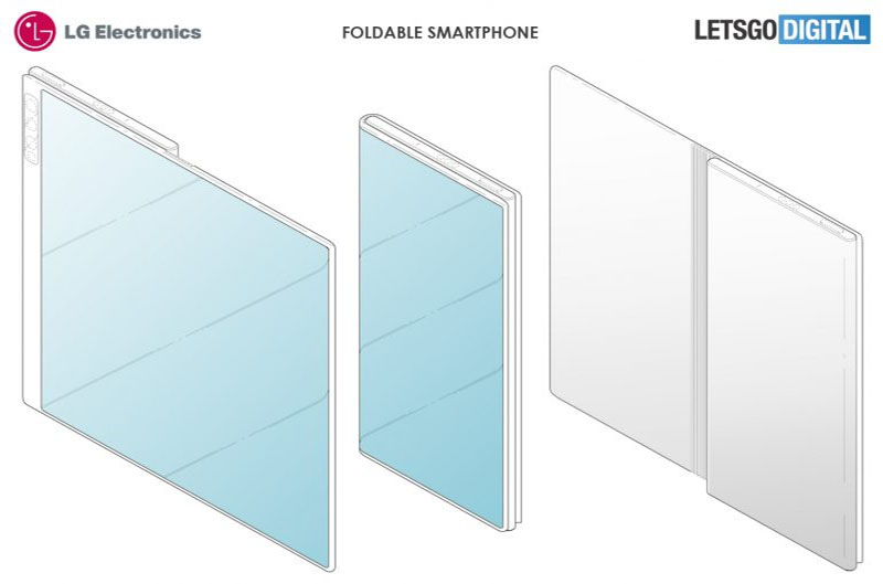 LG acaba de patentear novo design dobrável para smartphones