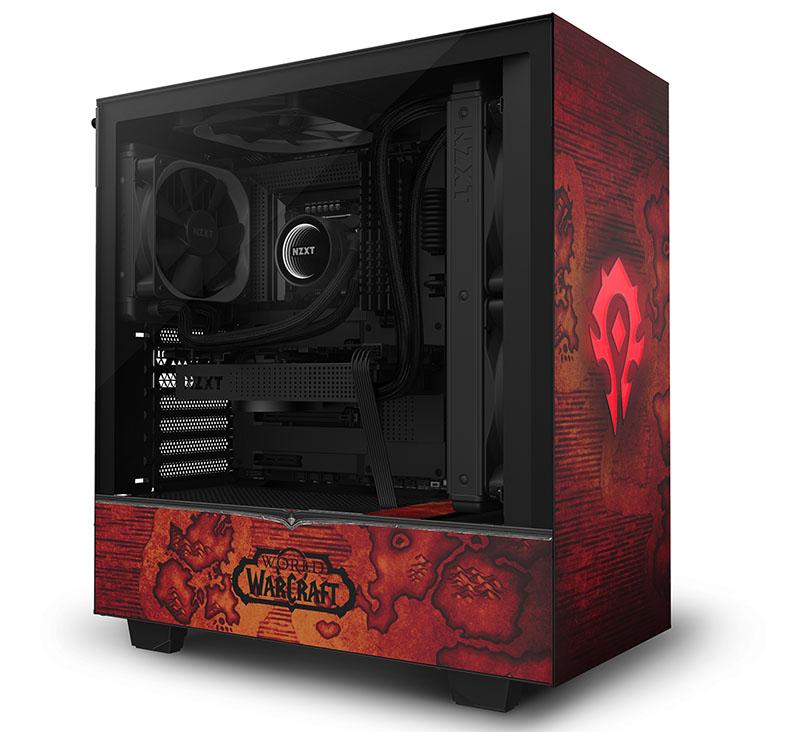 NZXT lança quinta edição limitada de gabinetes especiais CRFT com tema World of Warcraft