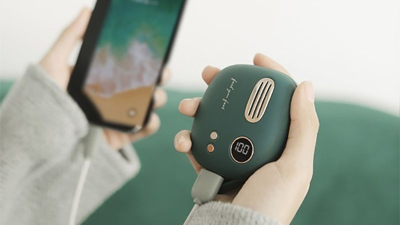 Xiaomi lança carregador portátil com função de aquecer as mãos em dias frios