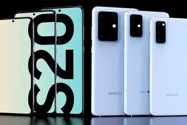 Especificações dos smartphones Samsung Galaxy S20 aparece na internet