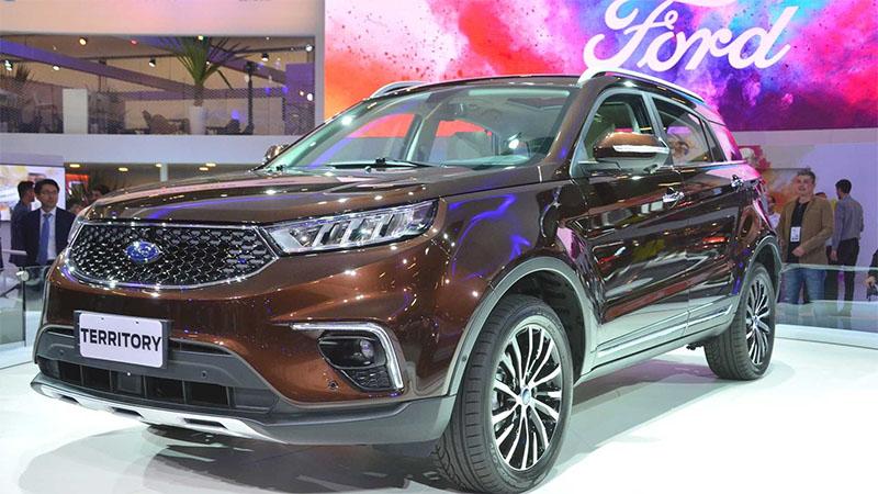 Novo Ford Territory 2020 está caminho do Brasil