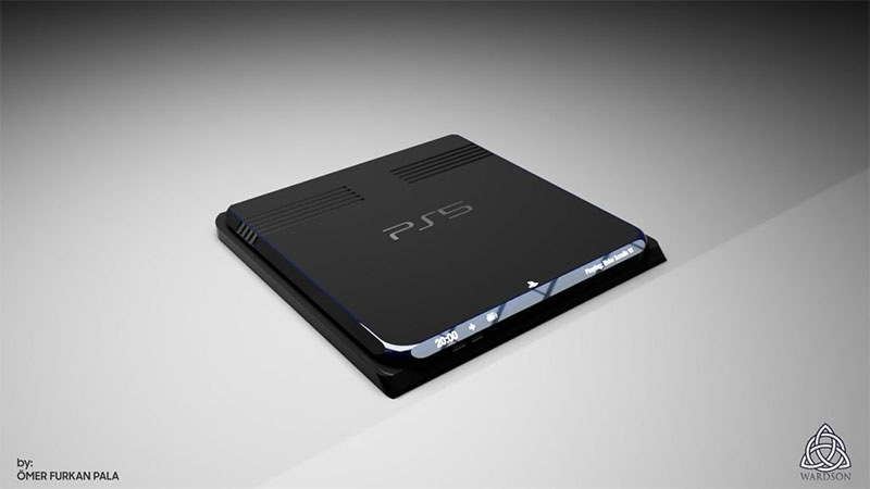 PlayStation 5 aparece em renderização conceitual com design espetacular