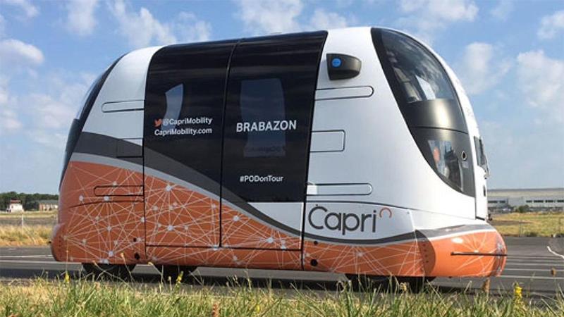 Reino Unido começou a realizar testes de transporte público autônomo