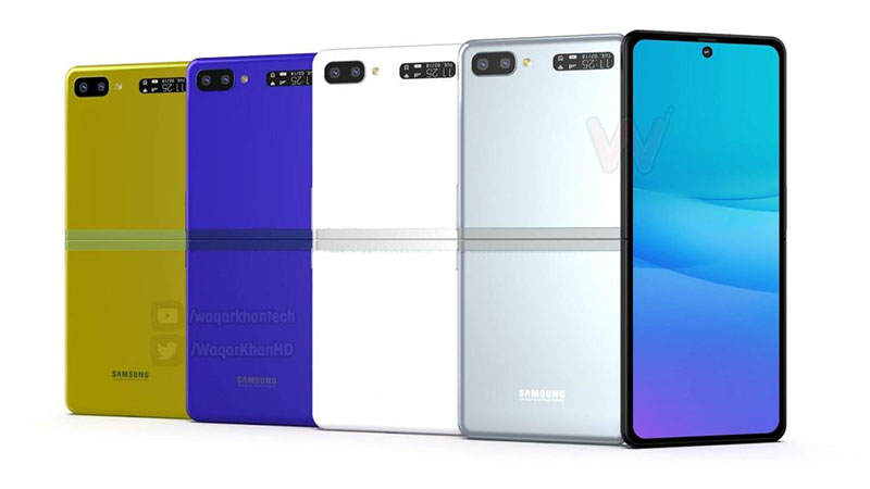 Samsung Galaxy Fold 2 pode chegar com visual do novo Motorola Razr
