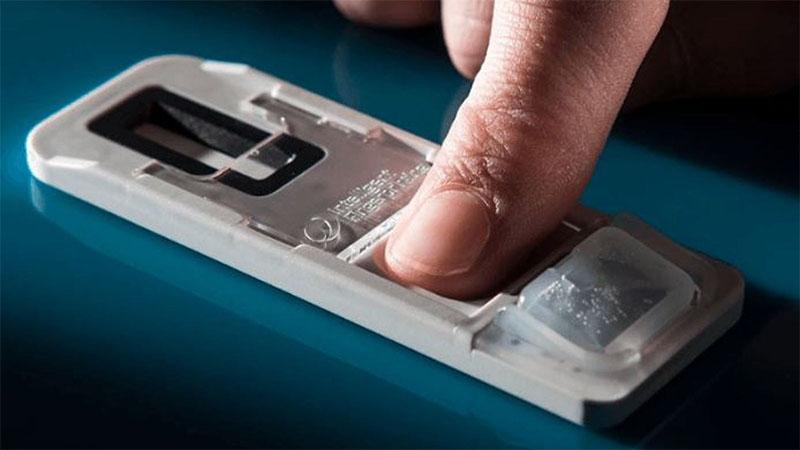 Com a utilização de impressão digital será possível saber se alguém usou cocaína