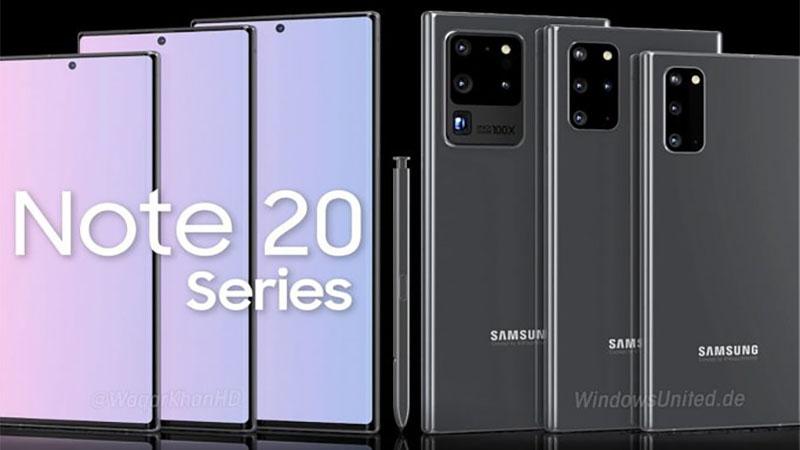 Samsung Galaxy Note 20 deve chegar em breve