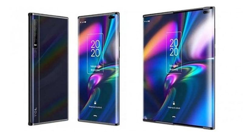 Smartphone dobrável da TCL pode chegar ao mercado em breve