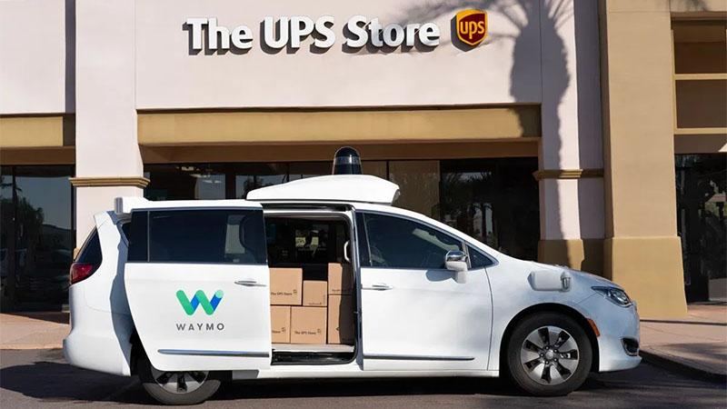 UPS e Waymo fazem parceria para criar vans autônomas