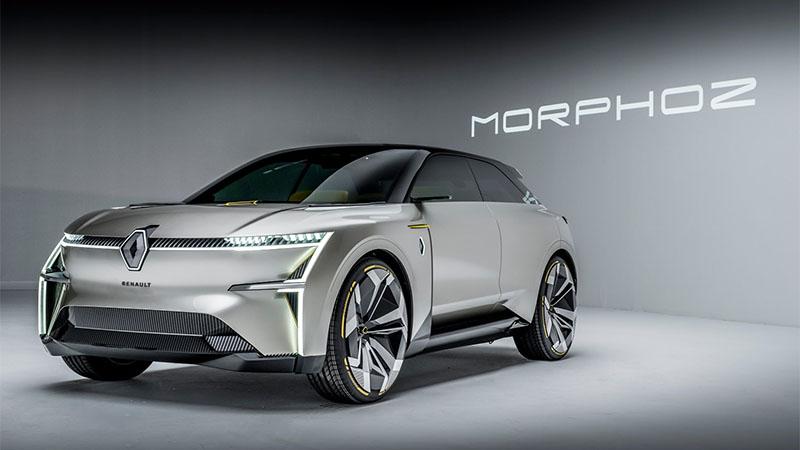 Morphoz - Carro da Renault que estica e encolhe quando necessário