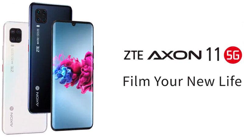 Esse é o ZTE Axon 11 5G