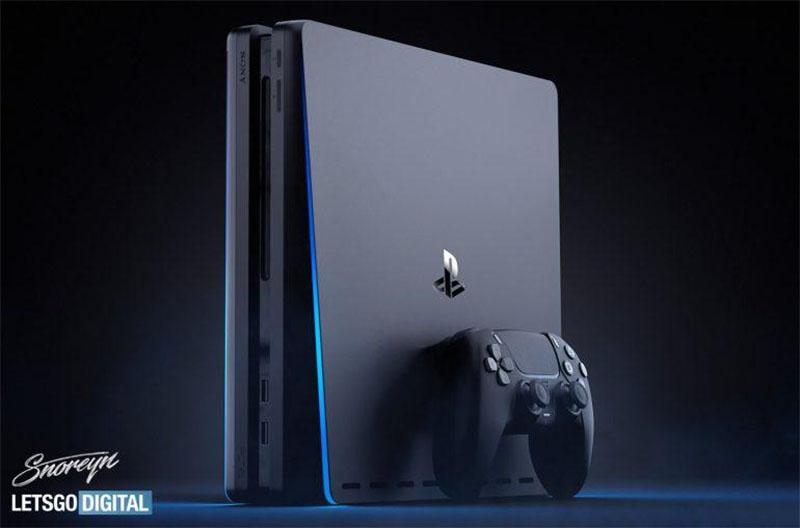 Artista italiano cria imagem conceitual em tom preto do PlayStation 5 e seu controle DualSense