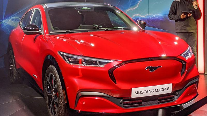 Mustang elétrico da Ford será lançado em breve