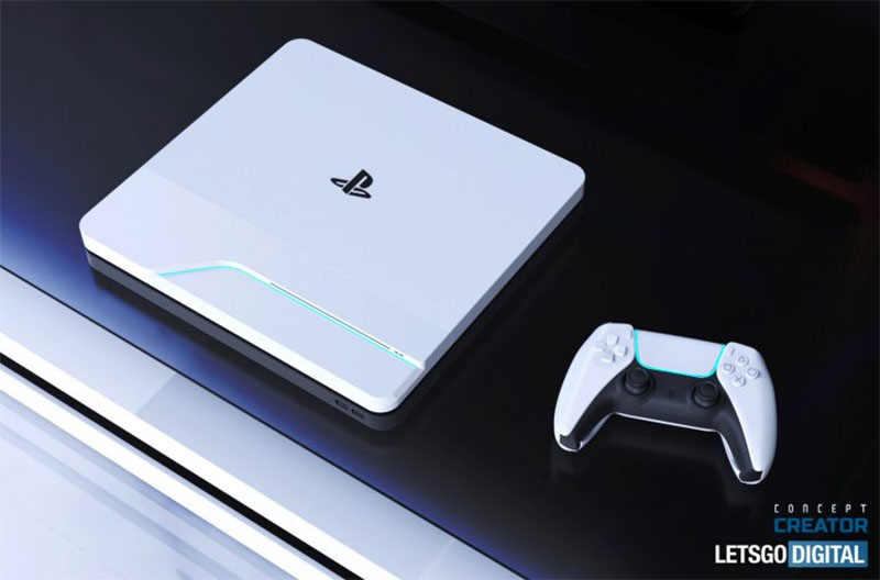 PlayStation 5 surge em nova imagem conceitual com design espetacular