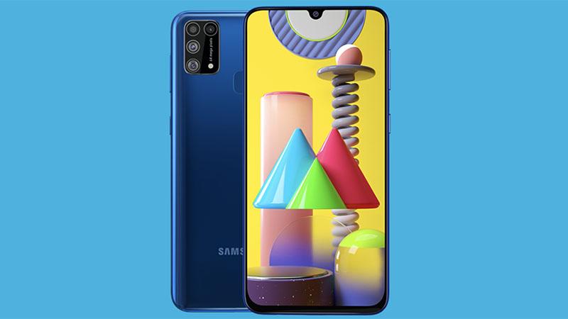 Samsung Galaxy M31 é revelado com bateria de 6.000 mAh
