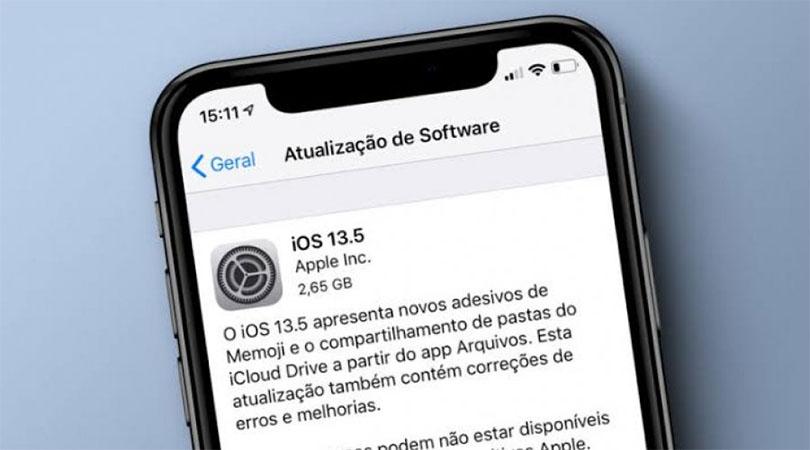 Apple lança nova versão do iOS para tornar o iPhone mais útil em meio à pandemia do COVID-19