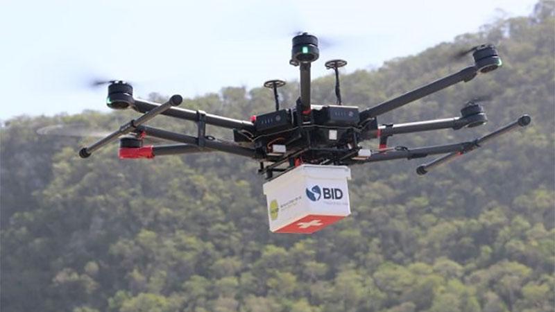 Drones ajudam no combate do coronavírus com fornecimento de suprimentos médicos