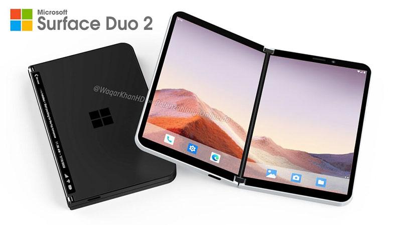 Surface Duo 2 aparece em vídeo conceitual com design espetacular