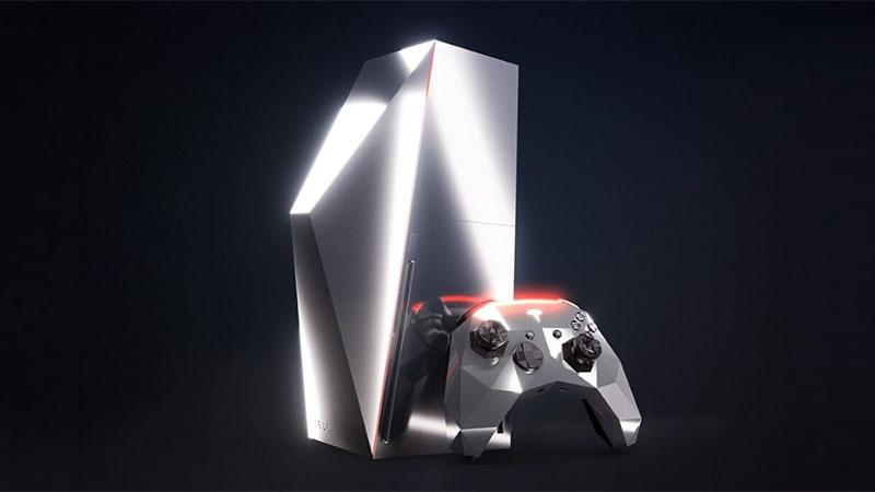 Imagens de Xbox inspirado no Tesla Cybertruck aparece na internet