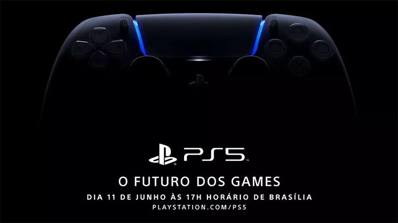 Sony vai realizar evento do PlayStation 5 hoje a partir das 17 Horas