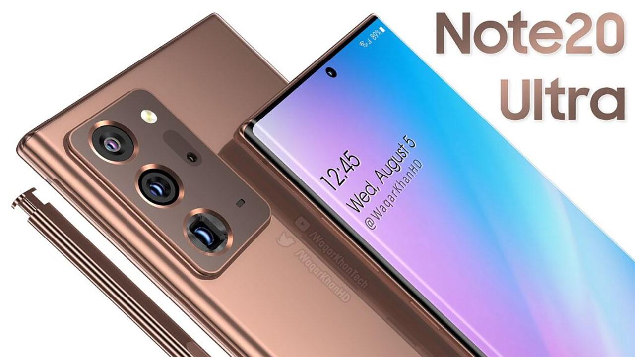 Galaxy Note 20 Ultra aparece em vídeo conceitual com belo design