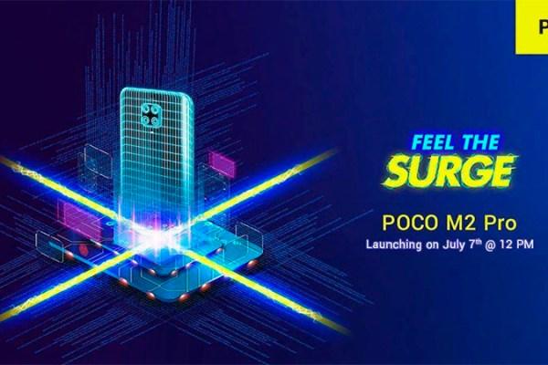 Poco M2 Pro será lançado em 7 de julho