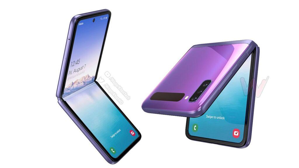 Samsung Galaxy Z Flip 2 surge em vídeo conceitual com design espetacular