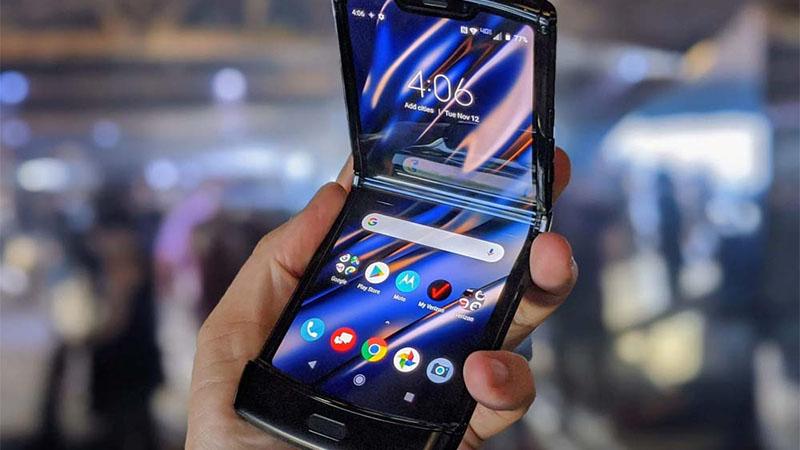 Versão 5G do Motorola Razr está a caminho