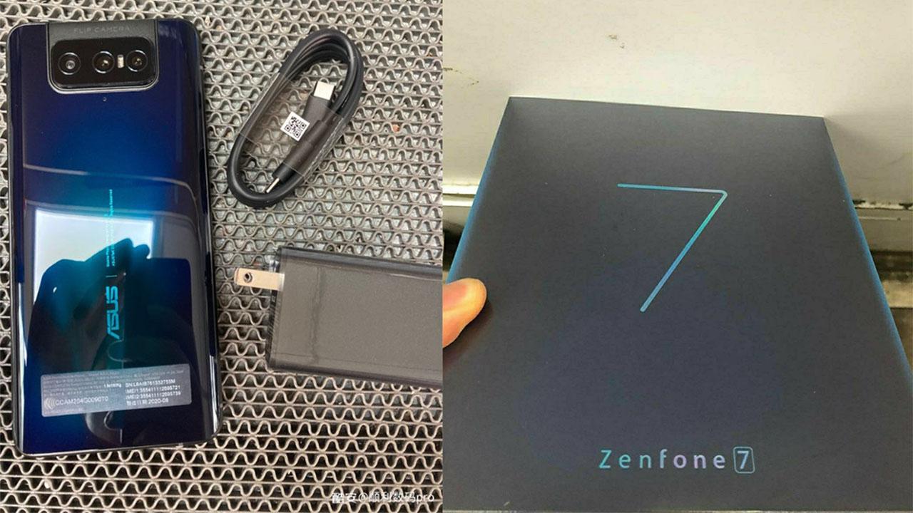 Asus Zenfone 7 aparece em imagens reais com todas especificações vazadas