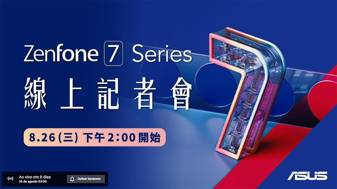 Asus vai lançar Zenfone 7 em 26 de agosto
