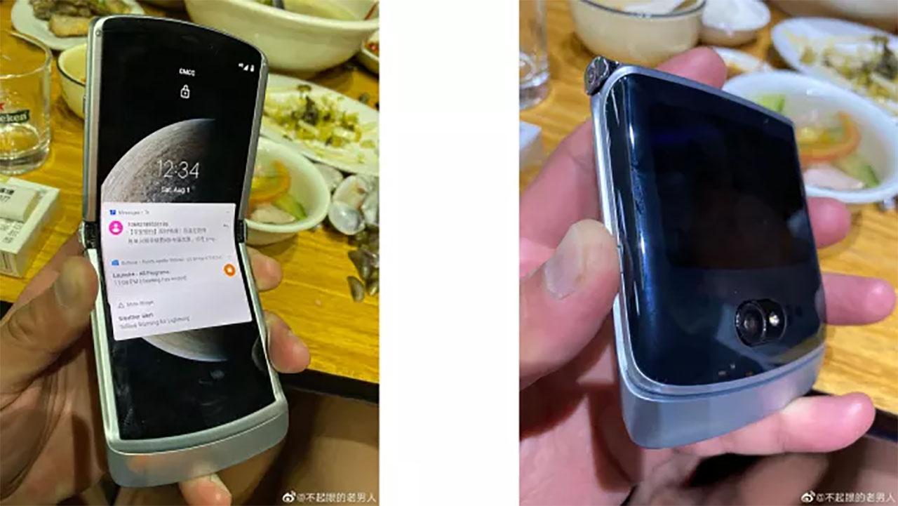 Imagens reais do Motorola Razr 2 aparece na internet