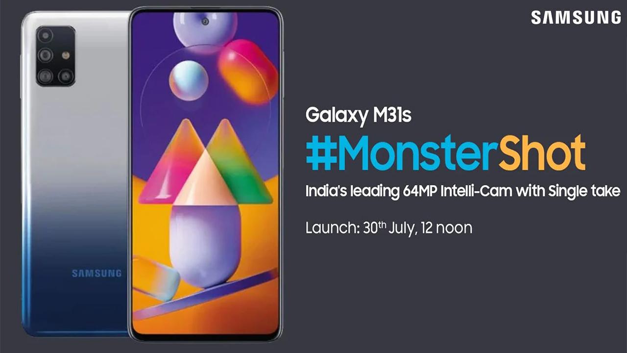 Samsung lança Galaxy M31s com especificações e bateria espetacular
