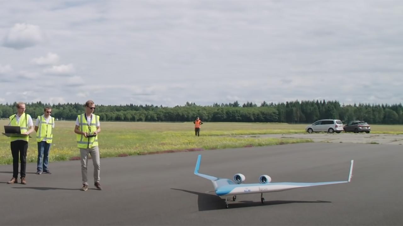 Aeronave em formato V pode ser o futuro da aviação