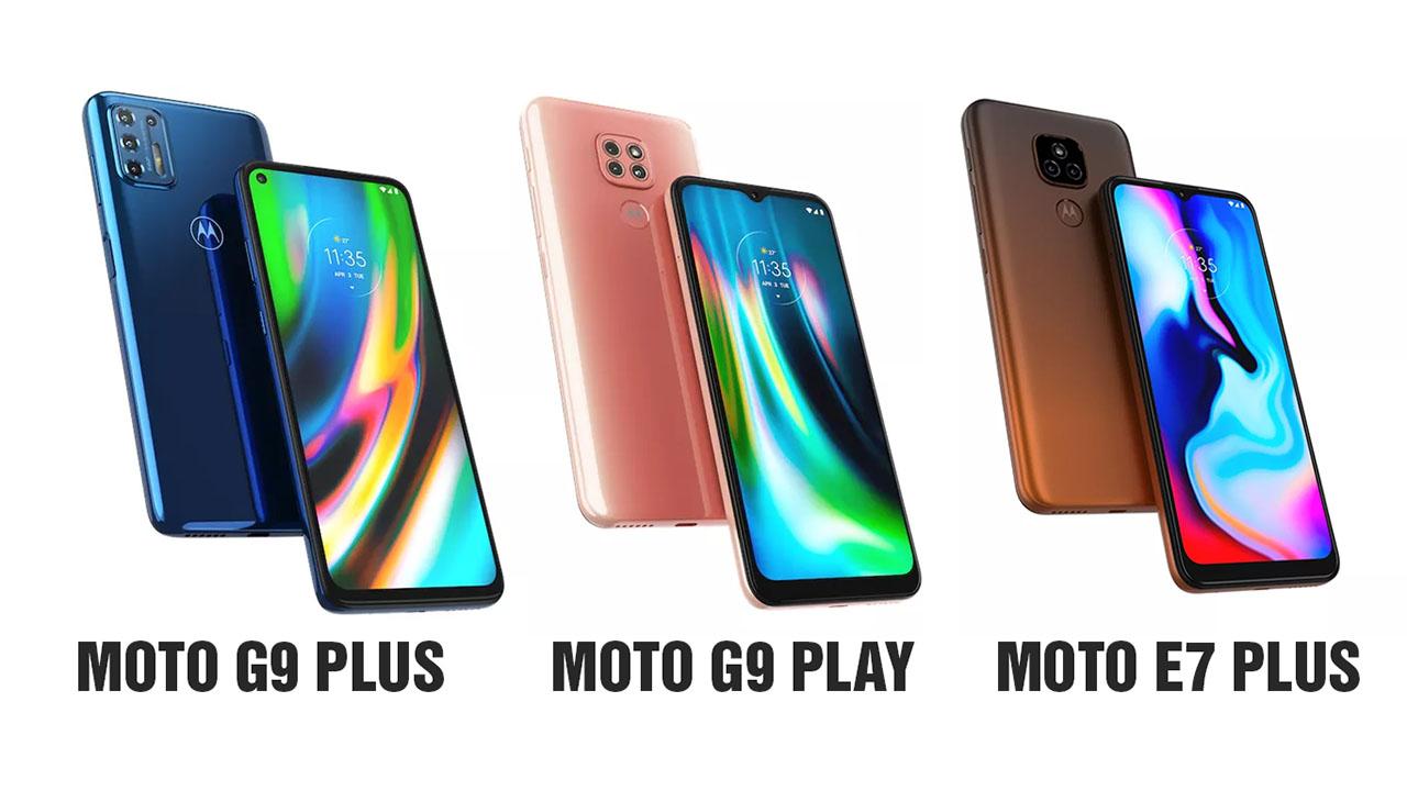 Motorola lança no brasil o novo Moto G9 Plus, G9 Play e E7 Plus