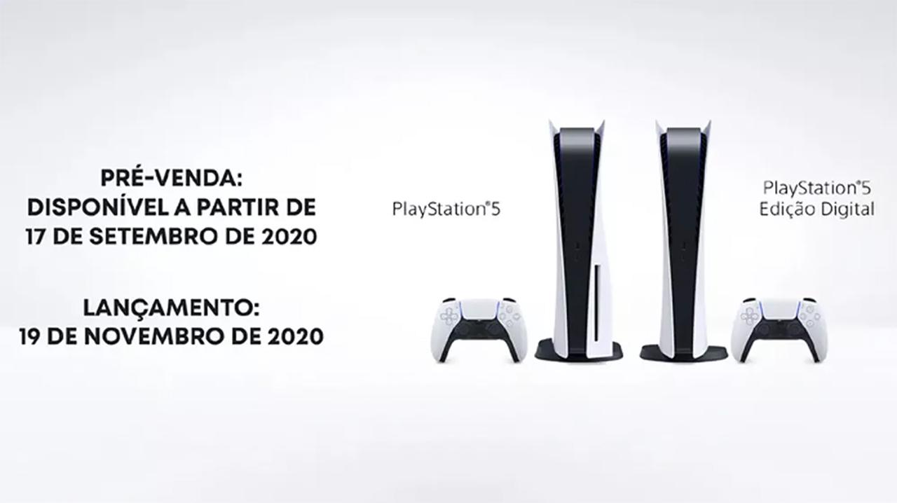 PlayStation 5 está em pré-venda no Ponto Frio e outras lojas online por R$ 4.499,00 com parcelamento em até 12x