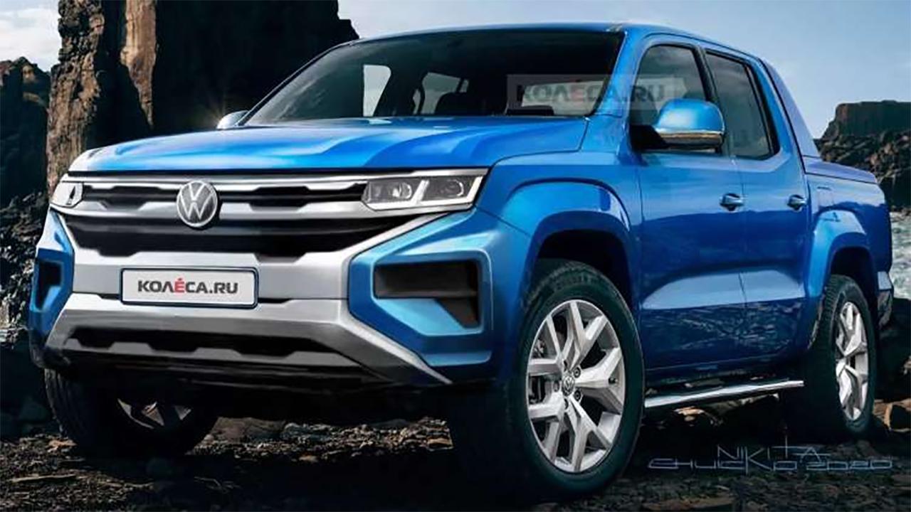 Volkswagen AMAROK terá nova grade frontal