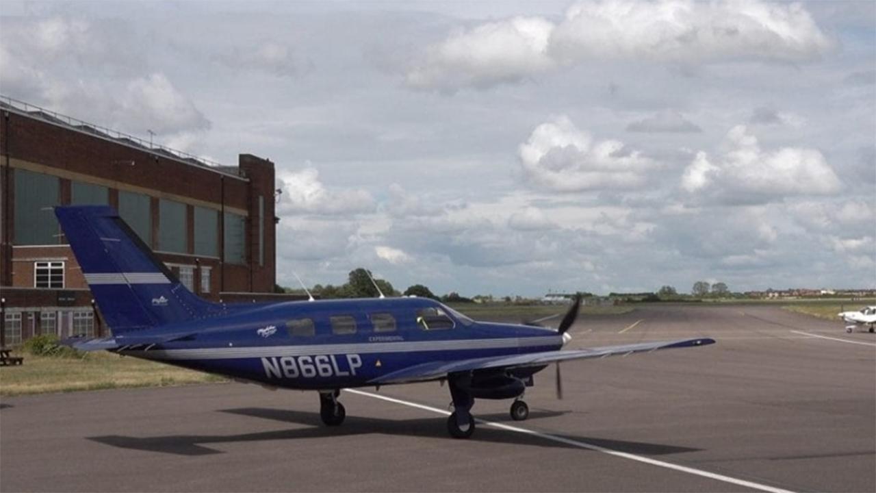 Voo de avião movido a hidrogênio é considerado um sucesso