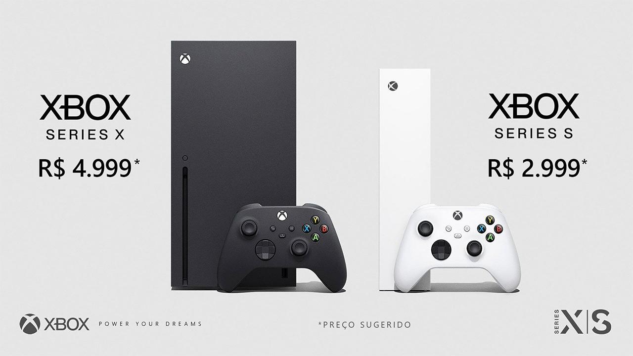 Xbox Series X e S vai ser lançado no brasil em novembro e a pré-venda começa antes