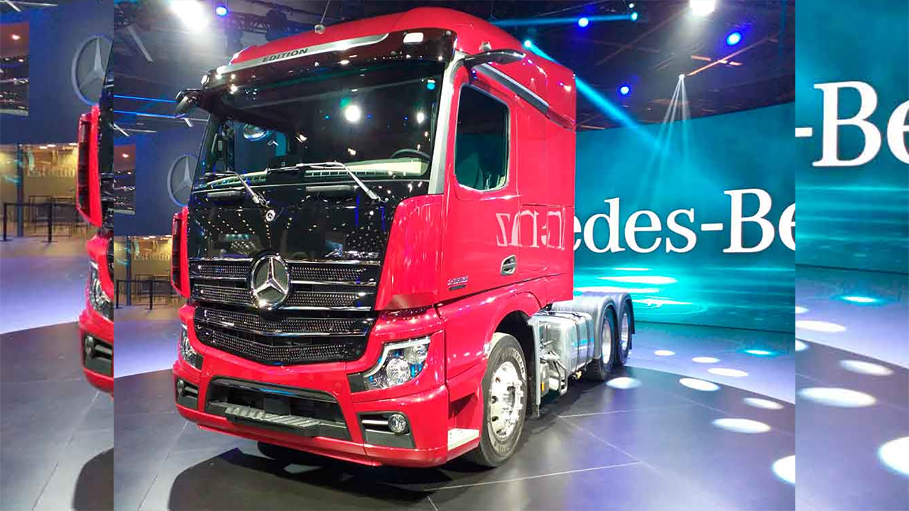 Novo Mercedes-Benz Actros 2020 é o caminhão mais digital do Brasil