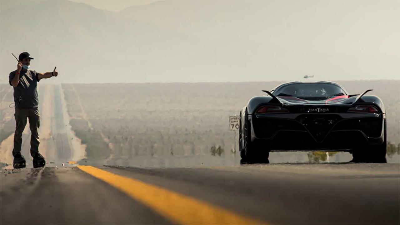 SSC TUATARA bate velocidade de 532 kmh e se torna o carro de produção mais rápido do planeta