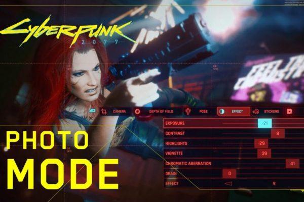 Modo Foto é destaque no novo trailer de Cyberpunk 2077